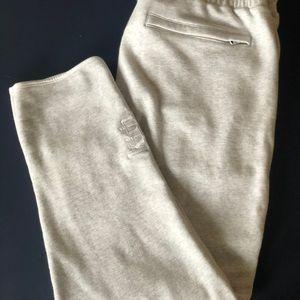 KITH Knit Malone sweatpants Light Heather Grey XL
